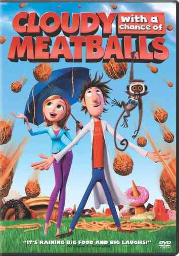 CLOUDY WITH A CHANCE OF MEATBALLS BY HADER,BILL (DVD)